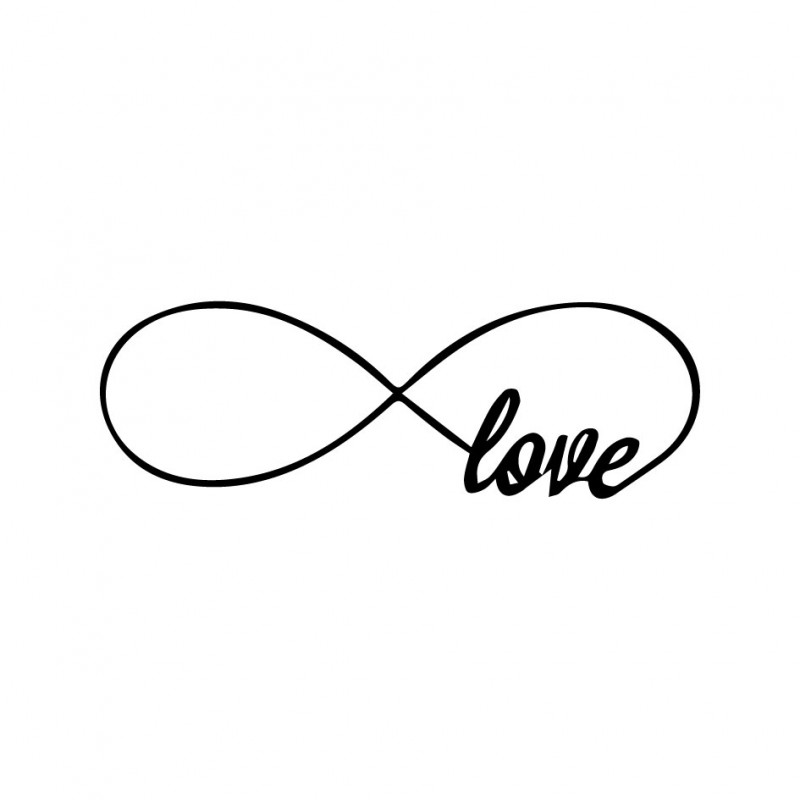 Pictures Of Infinity Symbol Quot The 100 Infinity Symbol Black